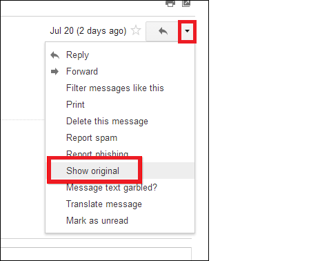 Analyze Gmail Message Header – How to View & Extract Header