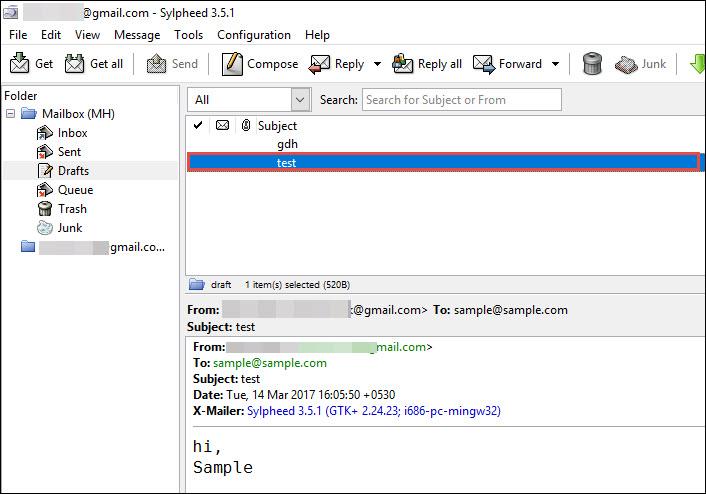 Sylpheed Email Header Analyzer – Open, Read & Examine